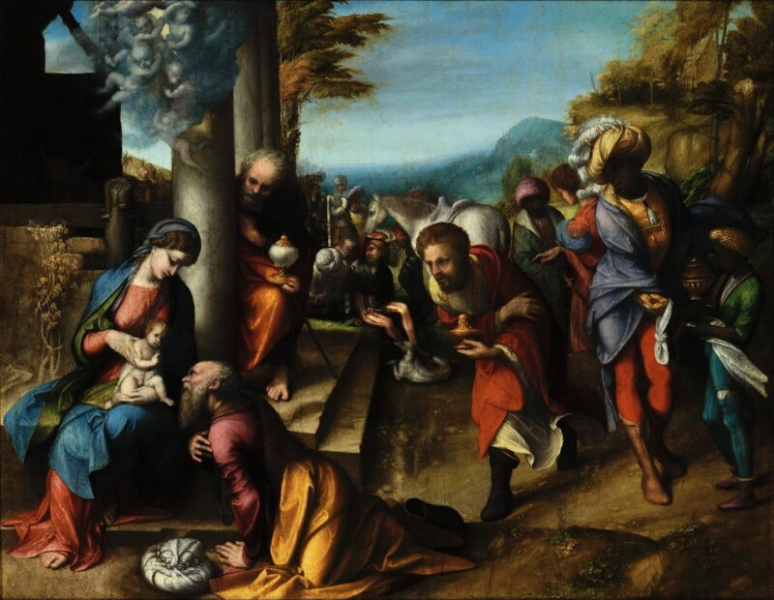 Antonio Allegri - Adoration of the Magi