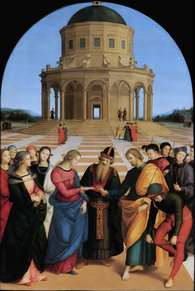 Raphael (Raffaello Sanzio) - Marriage of the Virgin