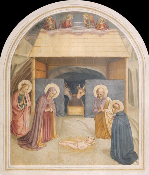 Beato Angelico (Giovanni da Fiesole) - Natività di Gesù (cella 5)
